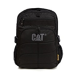Caterpillar - Black branded padded backpack