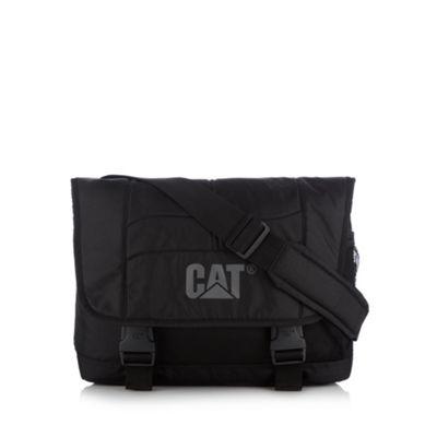 Caterpillar Black branded despatch bag - . -