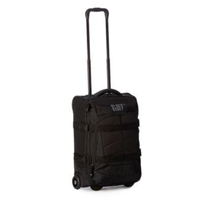 Caterpillar Black side buckle rolling suitcase - . -