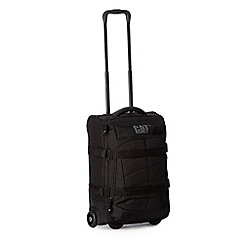 Caterpillar - Black side buckle rolling suitcase
