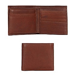 RJR.John Rocha - Designer tan leather wallet