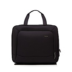 Kingsons - Black laptop trolley bag