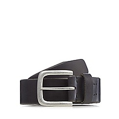 Levi's - Black leather pin buckle belt