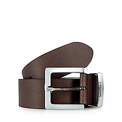 Levi's - Brown leather pin buckle belt