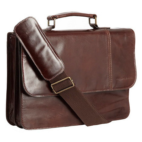 RJR.John Rocha - Designer brown briefcase