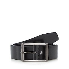 Jeff Banks - Black leather belt
