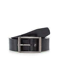 Jeff Banks - Black leather belt