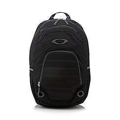 Oakley - Black padded logo backpack