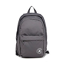 Converse - Grey logo backpack