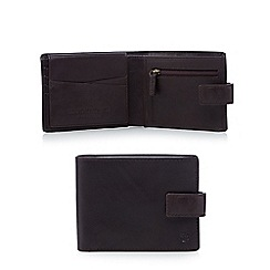 Hammond & Co. by Patrick Grant - Black leather debossed logo wallet in a gift box