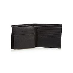 RJR.John Rocha - Black leather debossed logo wallet in a gift box