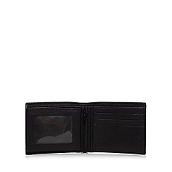 RJR.John Rocha - Black leather fold out zip wallet in a gift box