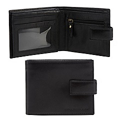 RJR.John Rocha - Black leather fold out wallet in a gift box