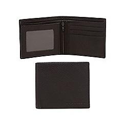 RJR.John Rocha - Brown leather fold out wallet
