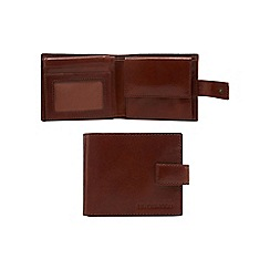 RJR.John Rocha - Tan Italian leather fold out ID pass wallet in a gift box