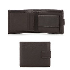 J by Jasper Conran - Black leather wallet in gift box