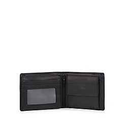 J by Jasper Conran - Black leather wallet in a gift box