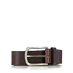 Hammond & Co. by Patrick Grant - Big and tall brown leather belt