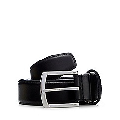 Hammond & Co. by Patrick Grant - Black leather pin buckle belt in a box in a gift box