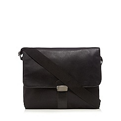 J by Jasper Conran - Black messenger laptop bag