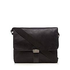 J by Jasper Conran - Black messenger laptop bag