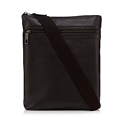 J by Jasper Conran - Brown leather cross body bag