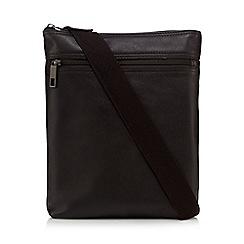 J by Jasper Conran - Brown leather cross body bag