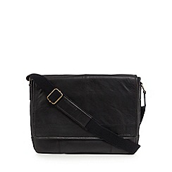 RJR.John Rocha - Black popper pocket despatch bag