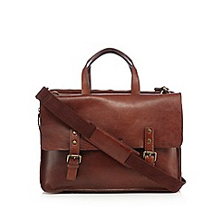 RJR.John Rocha - Tan padded laptop bag