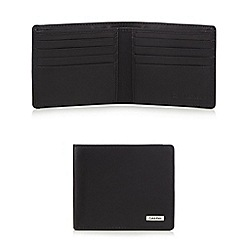Calvin Klein - Black leather billfold wallet