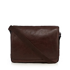 J by Jasper Conran - Brown leather dispatch bag