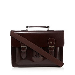 RJR.John Rocha - Brown leather satchel