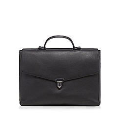 J by Jasper Conran - Black clasp briefcase