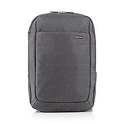 Kingsons - Grey laptop backpack