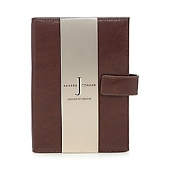 J by Jasper Conran - Brown leather notebook