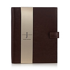 J by Jasper Conran - Tan leather large organiser