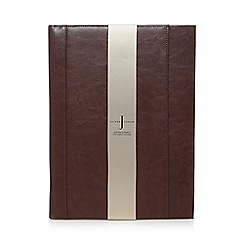 J by Jasper Conran - Tan leather business document holder