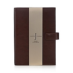 J by Jasper Conran - Tan leather A5 notebook