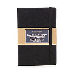 Hammond & Co. by Patrick Grant - Black leather covered diary