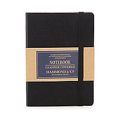 Hammond & Co. by Patrick Grant - Black leather covered notebook