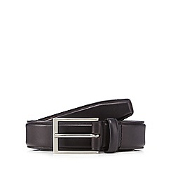 Hammond & Co. by Patrick Grant - Black leather pin buckle belt