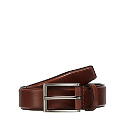 Hammond & Co. by Patrick Grant - Big and tall tan leather belt