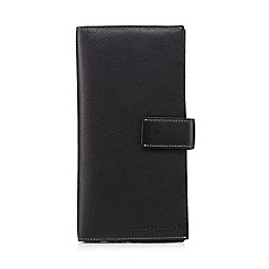 J by Jasper Conran - Black leather travel wallet
