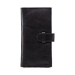 RJR.John Rocha - Black Italian leather travel wallet