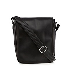 Ben Sherman - Black script utility bag