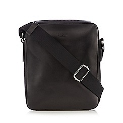 Osprey - Black leather fender utility bag