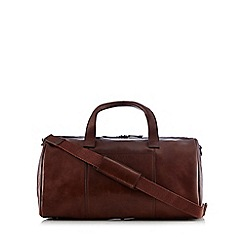 RJR.John Rocha - Brown leather holdall