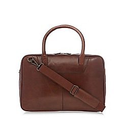 RJR.John Rocha - Tan leather travel bag