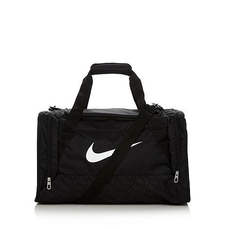 Nike - Black +Brasilia+ holdall bag