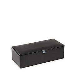 Jeff Banks - Black watch and cufflink box